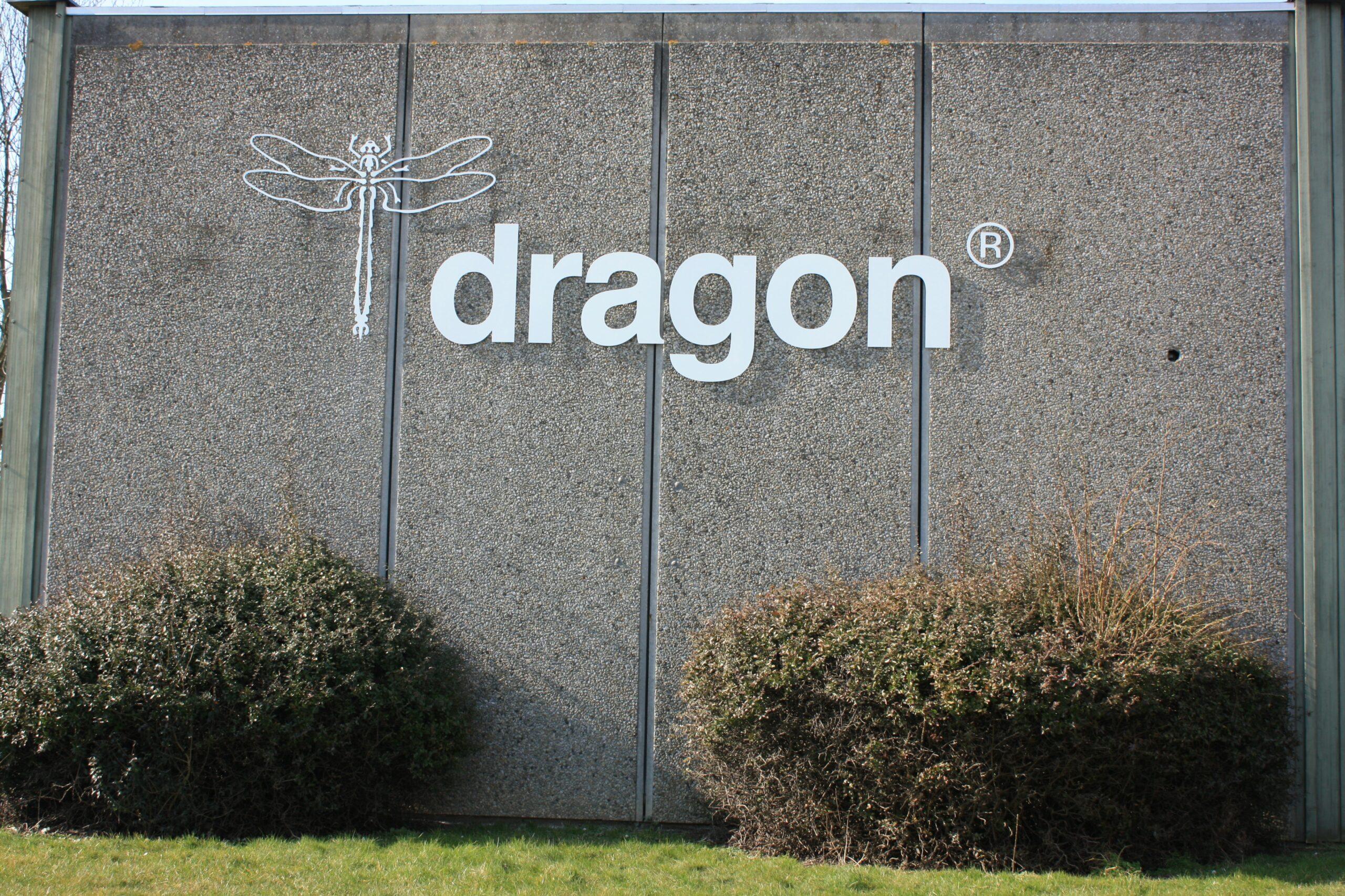 Dragon slibepapir, logo